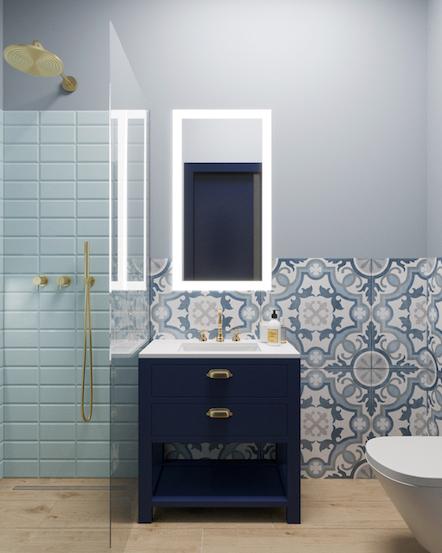 elegancka łazienka