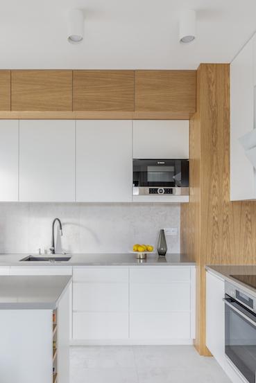 biała dębowa kuchnia
